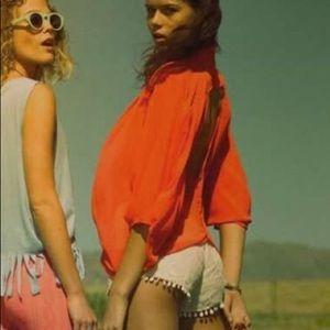 LF chandelier lace shorts